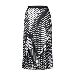 Gerry Weber Graphic Print Skirt Black