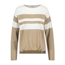 Gerry Weber Stripe Jumper Beige