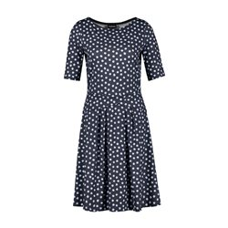 Taifun Spot Dress Blue