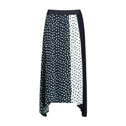 Taifun Spot Skirt Blue