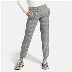 Taifun 7/8 Check Trouser Grey