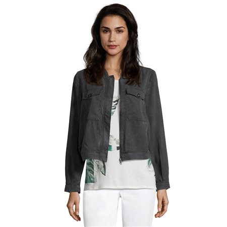 Betty & Co Lyocell Jacket Grey  - Click to view a larger image