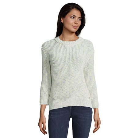 Betty & Co Chunky Ribbed Jumper Cream  - Click to view a larger image