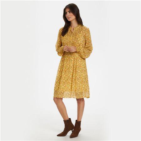 Part Two Temple Dress Lemon  - Click to view a larger image