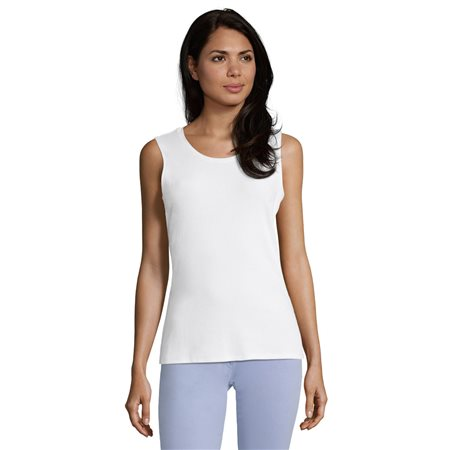 Betty Barclay Fine Ribbed Vest Off White  - Click to view a larger image