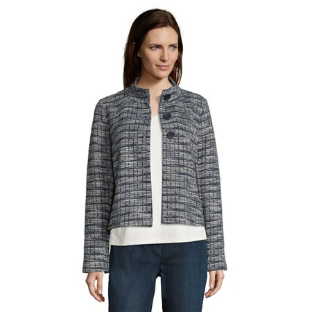 Betty Barclay Unlined Jacket Navy  - Click to view a larger image