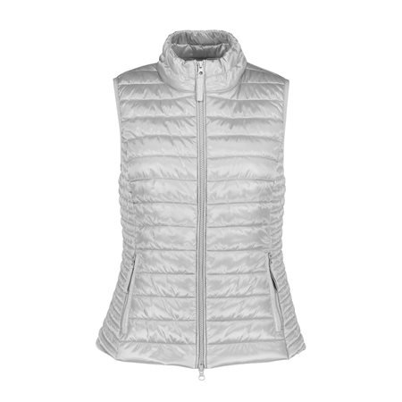 Betty Barclay Quilted Gilet Grey  - Click to view a larger image