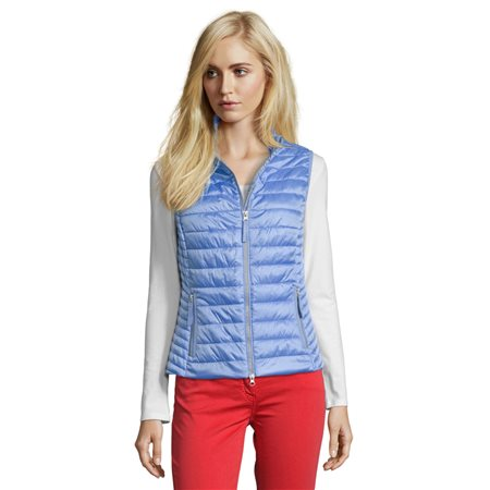 Betty Barclay Quilted Gilet Blue  - Click to view a larger image