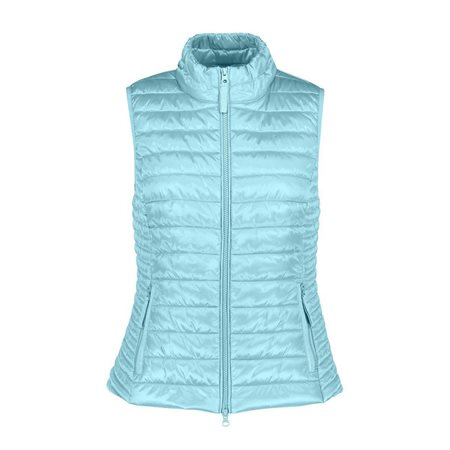 Betty Barclay Quilted Gilet Turquoise  - Click to view a larger image