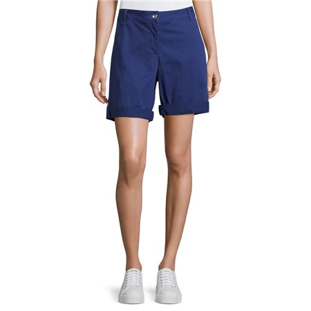 Betty Barclay Cotton Shorts Blue  - Click to view a larger image