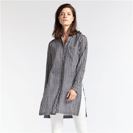 Sandwich Tunic Shirt Grey  - Click to view a larger image