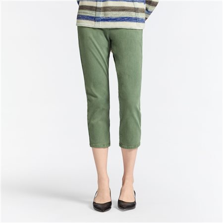 Sandwich High Waist Skinny Ankle Jean Green  - Click to view a larger image