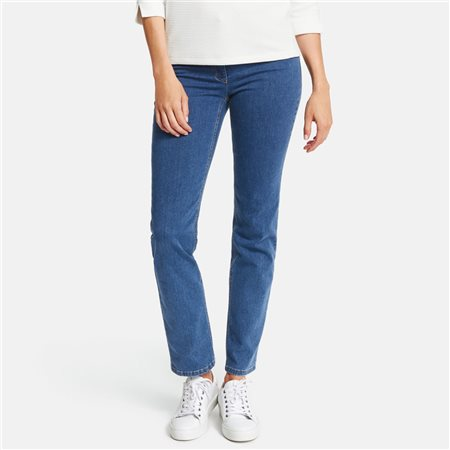Gerry Weber Five-Pocket Jeans Straight Fit Romy Blue  - Click to view a larger image