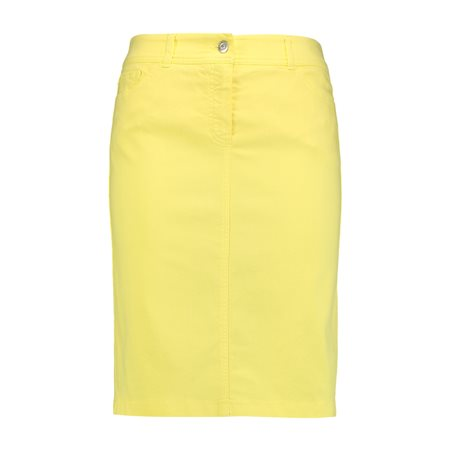 Gerry Weber Stretch Skirt Lemon  - Click to view a larger image