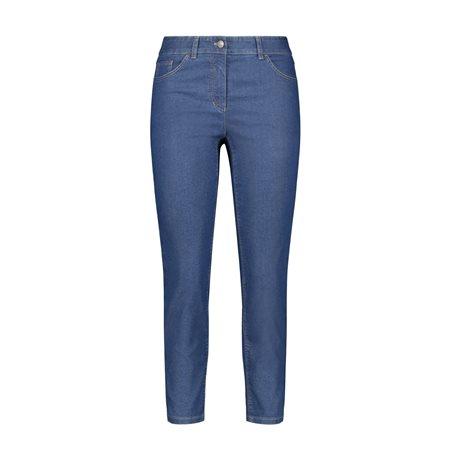 Gerry Weber Best4me 7/8 Crop Jeans Denim Blue  - Click to view a larger image
