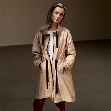 Gerry Weber Ultra Light Coat Beige  - Click to view a larger image