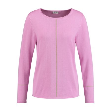 Gerry Weber Jumper With Silk Pink  - Click to view a larger image