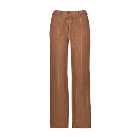 Gerry Weber Linen Trouser Beige  - Click to view a larger image