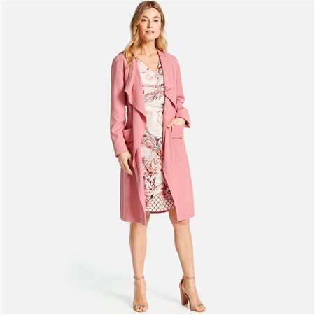 Gerry Weber Dress Coat Pink  - Click to view a larger image