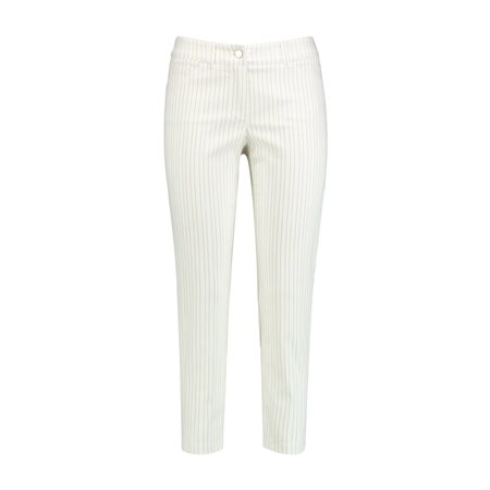 Gerry Weber Striped Best4me Capri Beige  - Click to view a larger image