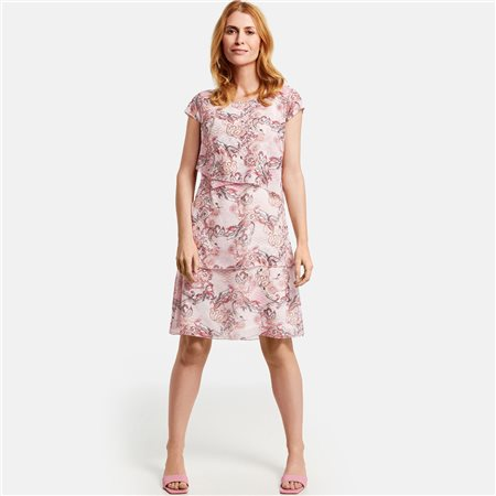 Gerry Weber Patterned Dress Rose  - Click to view a larger image