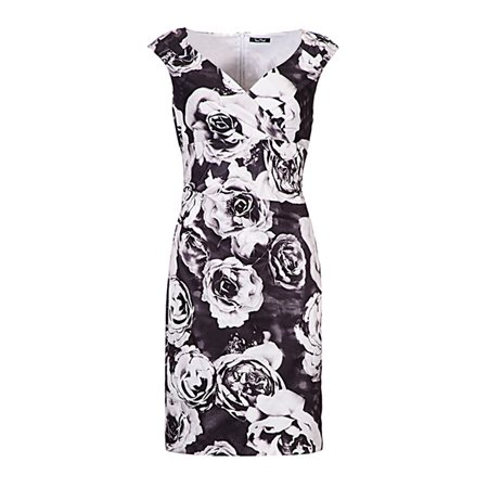 Vera Mont Roses Dress  - Click to view a larger image