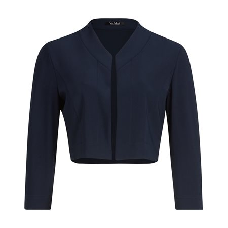 Vera Mont Jersey Jacket Navy  - Click to view a larger image