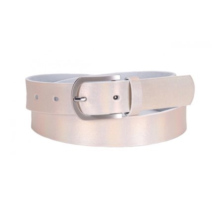 Tamaris Shimmer Belt Beige  - Click to view a larger image