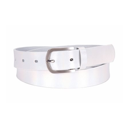 Tamaris Shimmer Belt White  - Click to view a larger image