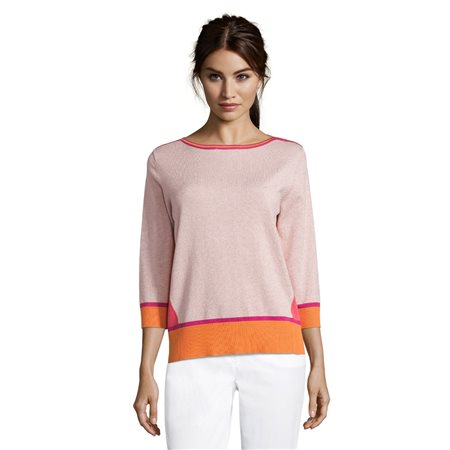 Betty Barclay Lurex Knit Pink  - Click to view a larger image