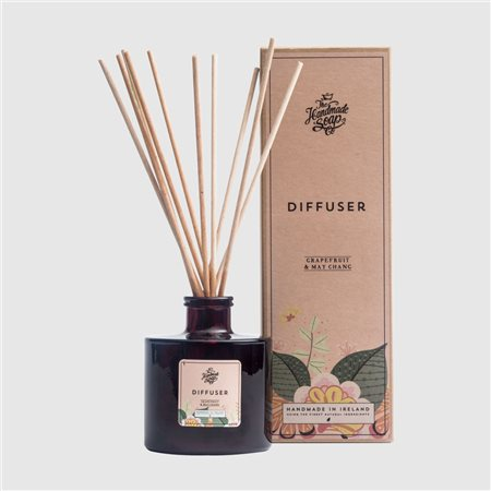 The Handmade Soap Company Grapefruit & May Chang Diffuser Pink  - Click to view a larger image