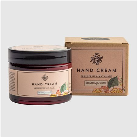 The Handmade Soap Company Grapefruit & May Chang Hand Cream Pink  - Click to view a larger image