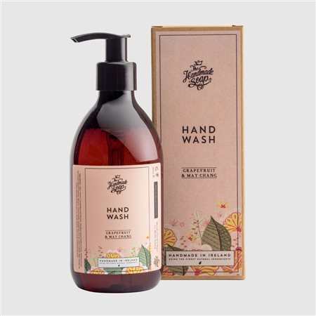 The Handmade Soap Company Grapefruit & May Chang Hand Wash Pink  - Click to view a larger image