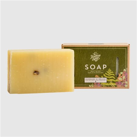 The Handmade Soap Company Sweet Orange/ Basil & Frankincense Soap Orange  - Click to view a larger image
