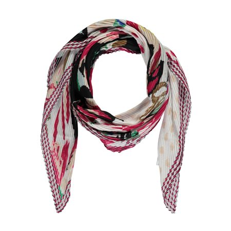 Gerry Weber Crinkle Scarf Pink  - Click to view a larger image