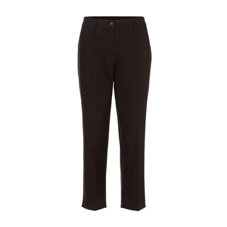 Olsen Mona Cropped Trouser Black  - Click to view a larger image