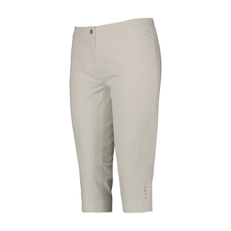 Gerry Weber Straight Fit Capri Trousers Beige  - Click to view a larger image