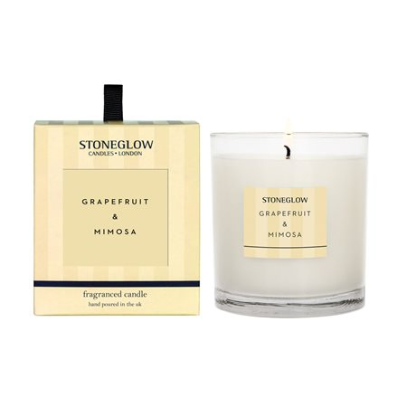 Stoneglow Modern Classics Grapefruit & Mimosa Candle Lemon  - Click to view a larger image