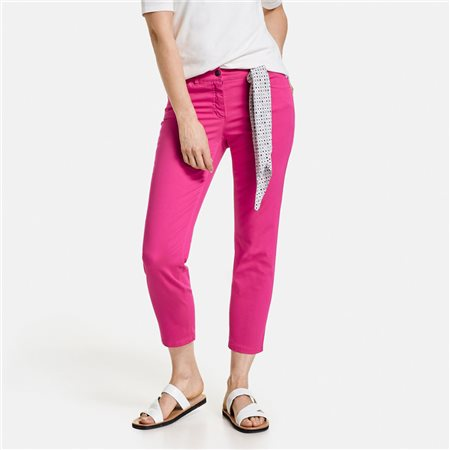 Gerry Weber Best4me 7/8 Crop Jeans Fuschia  - Click to view a larger image