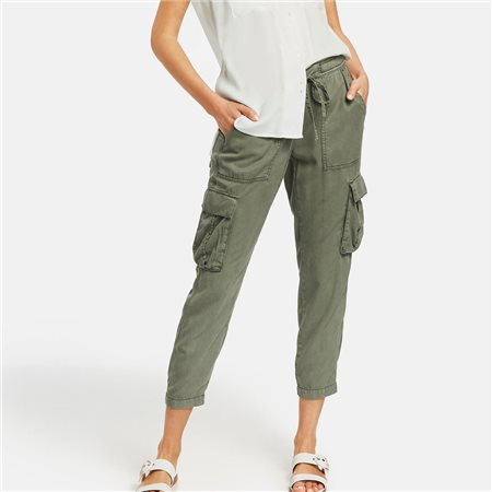 Taifun Cargo Trousers Khaki  - Click to view a larger image