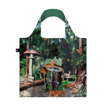 Loqi Forest Bag Black  - Click to view a larger image