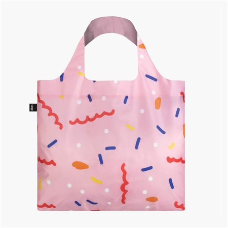 Loqi Confetti Bag Pink  - Click to view a larger image
