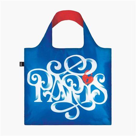 Loqi Paris Bag Blue  - Click to view a larger image