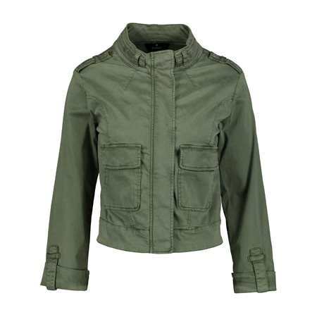 Monari Chain Detail Jacket Green  - Click to view a larger image