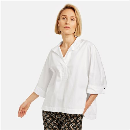 Gerry Weber Oversized Blouse White  - Click to view a larger image