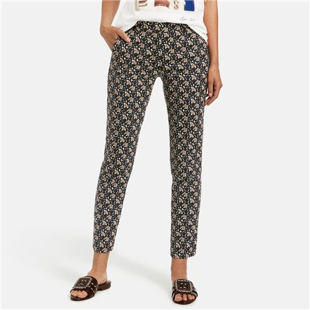Gerry Weber Retro Style Trousers Black  - Click to view a larger image