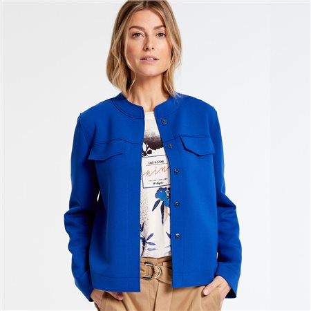Gerry Weber Heavy Jersey Blazer Royal  - Click to view a larger image