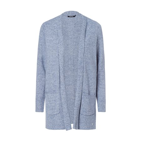 Olsen Cardigan With Decorative Pockets Blue  - Click to view a larger image