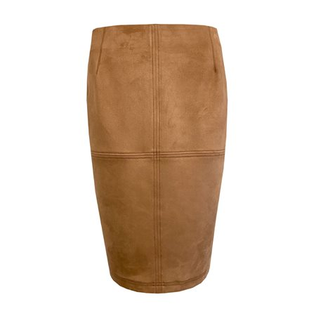 Lebek Soft Touch Skirt Tan  - Click to view a larger image