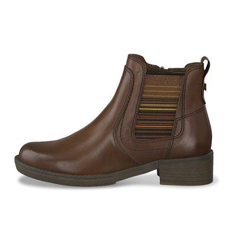 Tamaris Lorca Chelsea Boot Cognac  - Click to view a larger image